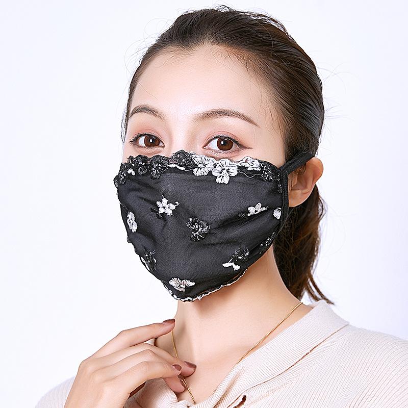 【冬季布マスク】★抗菌★防塵★花粉防止★保温★レディース用マスク★