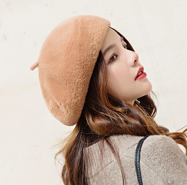 2021年新作★帽子★防寒★レデイース用★ベレー帽★キッズ用★可愛い★8色