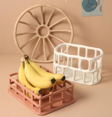 新作★大人気★雑貨★フルーツ盛り合わせ★室内飾り★樹脂製果物載せ