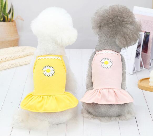2021年新作★素敵なペット服★可愛い★春夏★吊り★スカート★犬服★愛犬大変身★XS-XL