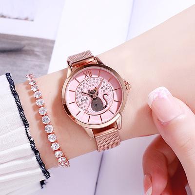 2021年新作★レディース★ファッション時計★ウォッチ★腕時計★メタルバンド★クォーツ★簡約
