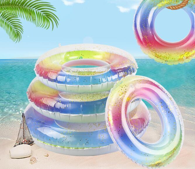 2021年新作★砂浜★水泳★コースター★キッズ★浮き輪★子供/大人★虹★ベビー★