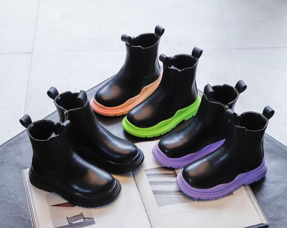 2021新入荷★★子供靴★ブーツ★3色★タグ26-36(内長15.5〜22cm)